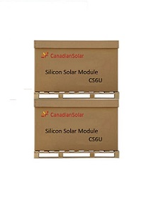 Canadian Solar 330W Poly (U) (72 X 6) (2 X Pallet of 26 - Collection)